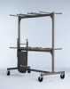 Folding Chair Dolly, Double-Tier,84 Cap. -- 3KYJ4