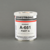 Armstrong A-661 Epoxy Adhesive Resin Part A Gray 1 pt Can -- A-661A PT