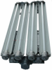 Explosion Proof LED Light w/ Emergency Ballast Back Up - 4 Foot, 4 Bulbs - Class I & II, Div. I -- EPL-EMG-48-4L-LED