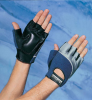 Terry Back Anti-Vibration Gloves > SIZE - L > COLOR - Spider > CASE QTY - 12/Bx > UOM - Pair -- 422P-SPI-L