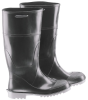 Onguard 56132 Black 10 (Women's) Chemical-Resistant Boots - 14 in Height - Polyurethane/PVC Upper, Polyurethane/PVC Sole and Steel Toe Cap - 791079-10107 -- 791079-10107 - Image