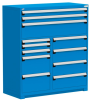 R Stationary Cabinet (Multi-Drawers), 12 drawers (54