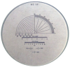 RETICLE #12-FOR 10X COMPARATOR -- 12266-12