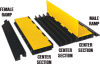 3-Channel Yellow Jacket AMS Ramps -- YJ3-225-AMS-F-B
