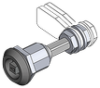 Tool Operated - Adjustable Cam Compression Latch -- 1000 - Image