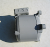 Freight Elevator Replacement Motor -- 20-101 - Image