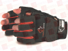 SUPERIOR GLOVE MXFE/L ( (PRICE/PAIR) CLUTCHGEAR FRAMERS GLOVE, SPLIT PALM, 1/2 THUMB/INDEX/MIDDLE FGRS,SIZE L ) -Image