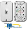 Leviton Wall Phone Jack - Contractor pack -- C0253-CP