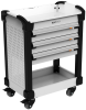 MultiTek Cart 3 Drawer(s) -- RV-DB33A3U110L3B -- View Larger Image