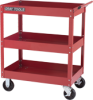 3 Tray Heavy Duty Utility Cart W/ Centre Shelf -- 97514