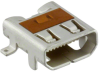 USB, DVI, HDMI Connectors -- 0467651302-ND - Image