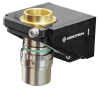 Single-Axis, Microscope Objective, Piezo Nanopositioning Stage -- QFOCUS QF1 -Image