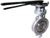 Carbon Steel Butterfly Valve -- LD 018-BT6 - Image