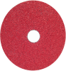 Norton Red Heat CA Coarse Fiber Disc - 77696008440 -- 77696008440 -Image