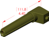 Angle Boot Insulator -- 18092 -- View Larger Image
