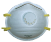 Low-Profile N95 Respirator with Exhalation Valve > UOM - 10/Box -- 1740