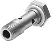 VT-1/2 Hollow bolt -- 9986 - Image