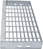 Grating Stair Treads -- Aluminum