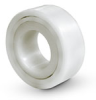 Plastic Raceways Plain Ball Bearings-Double Row – Inch -- BBPRIX-R6DR#