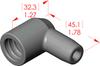 Angle Boot Insulator -- 16075 - Image