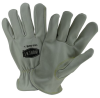 West Chester IronCat White Large Cowhide Leather Welding Glove - Keystone Thumb - 662909-404732 -- 662909-404732