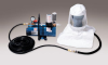 Tyvek Supplied Air Hood Systems - 1-worker full mask system w/ 50' hose > UOM - Each -- 9220-01