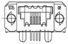 Input/Output (I/O) Connector -- 1-1761185-3 -Image