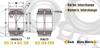 Standard Duty Sealed & Unsealed Spherical Plain Metric Bearing