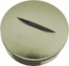 Nickel-Plated Brass Metric Thread Plugs -- 6700620