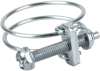 Hose clamp for securing wire-reinforced hoses SSD 24-27 ST-VZ -- 10.07.10.00086 - Image