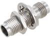 2.4mm Female (Jack) to 2.4mm Female (Jack) Bulkhead Adapter 0.87 inches long, 1.3 VSWR -- FMAD1159 - Image