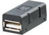 Passive Industrial Ethernet IP67 Plug-In Connector Inserts USB -- IE-BI-USB-A