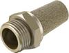 Pneumatic muffler -- AMTE-M-LH-G34 -Image
