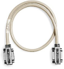 X12 GPIB Cable, Reverse-Entry, Single-Shield, Molded Fittings, 2 m -- 182773-02-Image