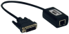 DVI over Cat5/Cat6 Passive Extender, Video Receiver, 1920x1080 at 60Hz, Up to 100-ft., TAA -- B140-1P0