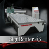 3 Axis CNC Router SignRouter Series -- SignRouter 43