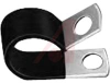 Clamp; Insulated Steel Cable Clamp; .375 x .50 -- 70182249 - Image