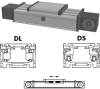Internal Belt Driven Linear Actuator -- DSZ 160