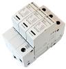 AC Surge Protector SPD I2R-T112 DIN-Rail 230 Vac 3-Phase Wye MOV 50 kA, IEC 61643-11 Class I+II, CE, RoHS -- I2R-T112-3P230 -Image