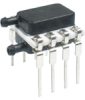 TruStability® HSC Series, digital SPI, DIP, RR: dual radial barbed ports, same side, differential, ±1 inH2O, 5.0 Vdc -- HSCDRRN001NDSA5