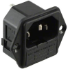 Power Entry Connectors - Inlets, Outlets, Modules -- 708-2587-ND -Image