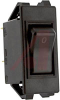 Circuit Breaker;Therm;Rocker;Cur-Rtg 16A;Snap-In Frame;2 Pole;Blade Snap -- 70128818