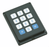Flange Mounted, Splash Resistant Keypads -- Series 88