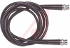 Cable Assy; 180 in.; 23 AWG; RG59B/U; Non Booted; Black Jacket; UL Listed -- 70197931 - Image