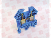 CONTA CLIP 1001.5 ( TERMINAL BLOCK AWG22-10 4MM2 BLUE FNFP/100 ) -Image