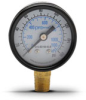 0-160 psi / 0-1100 kPa Pressure Gauge with 1.5 inch mechanical dial -- G15-BD160-8LB - Image