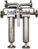 Duplex Integral Head Liquid Filter Housing - Image