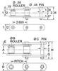 Part # 28601, US278R CHAIN - PLAIN -Image