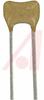 CAPACITOR CERAMIC , RADIAL 1000PF, 100V, 5%,C0G -- 70195712 - Image
