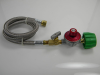 30 PSI Needle Valve Regulator Assembly with Stainless Steel Overbraid -- 106301